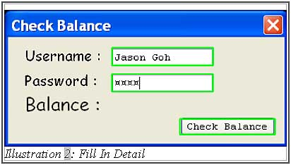Check SMS balance with VB.net