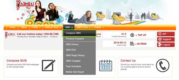 Bulk SMS End User Guide Compose SMS